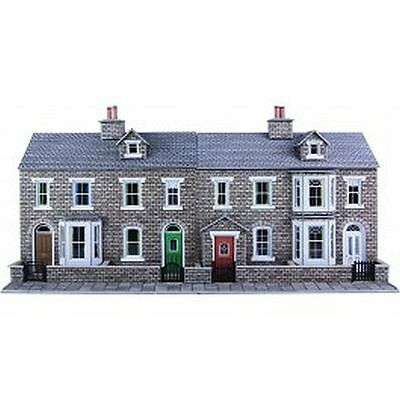 Metcalfe PO275 00/H0 Low Relief Stone Terraced House Fronts