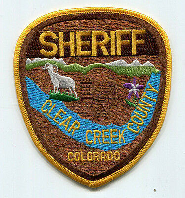 Clear Creek County Colorado Sheriff Patch