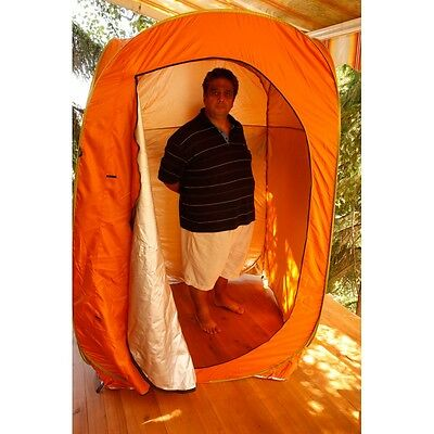 Large Portable POP Up Tent Camping Toilet Shower Changing Room + Carry Bag