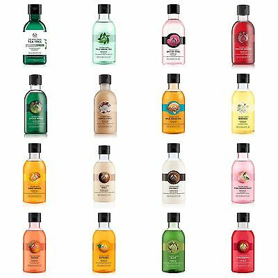 Body Shop ◈ Full Range ◈ BODY WASH & SHOWER GEL 250ML ◈ Soap-free & Lather-rich