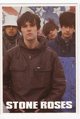 THE STONE ROSES carte postale n° DG015