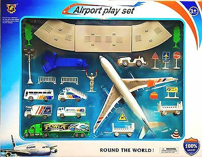 Kids Airport Playset C120 - Kids Children Toy - Ideal as Gift