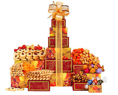 Wine Country Gift Baskets Tower of Sweets Best Christmas X-mas Gift! Chocolate