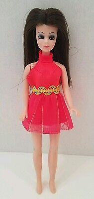 TOPPER dancing ANGIE DOLL WEARING  Short Red Dress K10