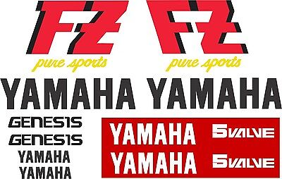 FZ 750 PURE SPORTS  1987 Decal Kit
