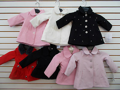 Infant & Toddler Girls London Fog Assorted Pea Coats Size 18 Months - 3T