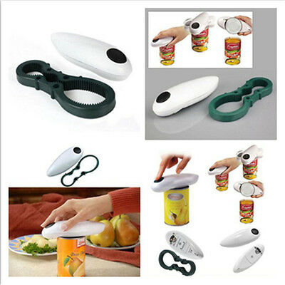 Automatic Opener Electric One Touch Auto Can Jar Tin No Hand Battery Operted Kit