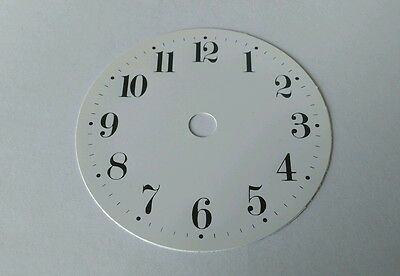 Paper Clock Dial Arabic 92mm Set of  5