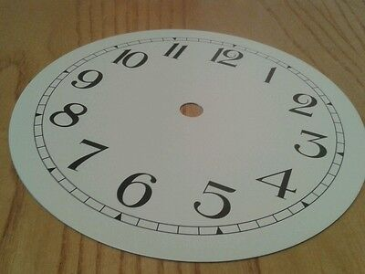 Clock Dial 152mm Arabic numerals