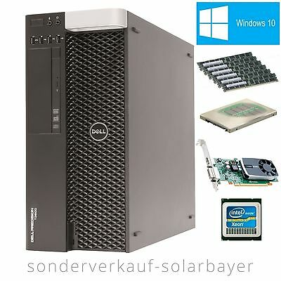 Dell Precision T3600 Workstation Xeon E5-2660 +RAM 32GB +HDD 1TB +Quadro 600 W10