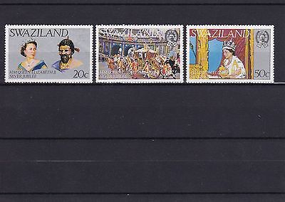 Swaziland Silver Jubilee Lot Stamps