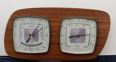 Vintage SUNDO, Wall BAROMETER , HYGROMETER and THERMOMETER
