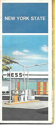 1974 Hess Map ~ New York State