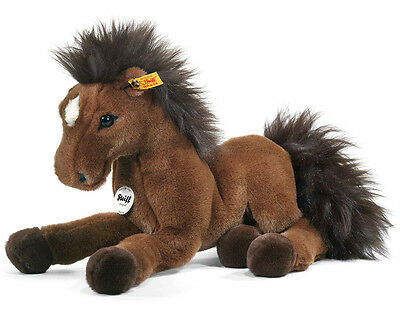 Steiff Hanno Horse - cuddly, washable & collectable soft toy - EAN 070716