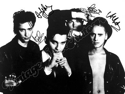 DEPECHE MODE  - print signed photo - foto con autografo stampato