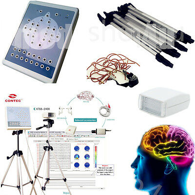 KT88 Digital Portable EEG Machine AndMapping System 16-channel EEG 3Y Warranty
