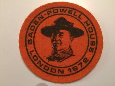 Baden Powell Boy Scout patch