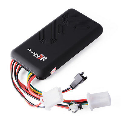 GPS Car Vehicle Motorcycle Tracker Real-time Tracking Device GPRS Locator AH247