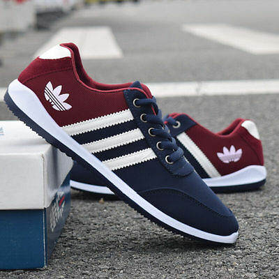 NEW Men's Shoes Fashion Breathable Casual Canvas Sneakers Running Shoes frg