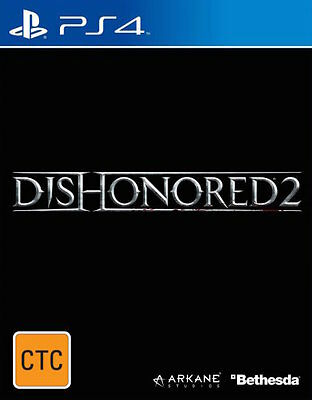 Dishonored 2  - PlayStation 4 game - BRAND NEW