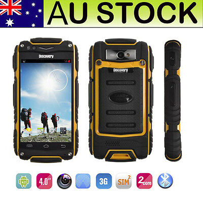 Rugged 3G Android Smartphone Unlocked Tough Shockproof Dual Core 4.0'' V8 Mobile