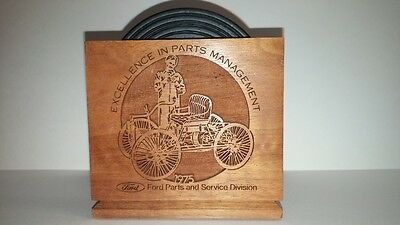 "1975 Ford ""excellence In Parts Management"" Coaster Set"