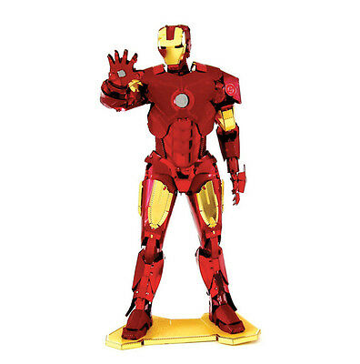 Metal Earth MARVEL Avengers IRON MAN 3D DIY Stainless Steel Jigsaw Model Puzzle