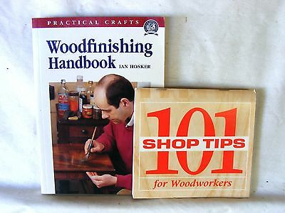 WOODFINISHING HandBook ... woodworking + 101 Shop Tips for Woodworkers wood work