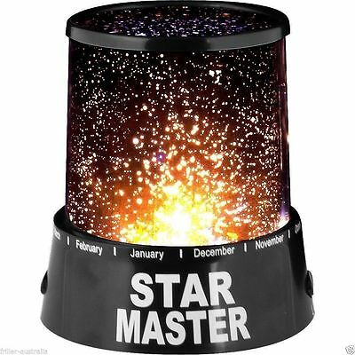 Star Cosmos Master Kids Gift Amazing LED Starry Night Sky Light Projector Lamp