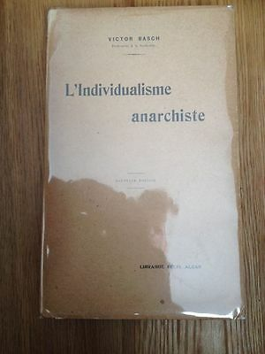 L'individualisme anarchiste : Max Stirner