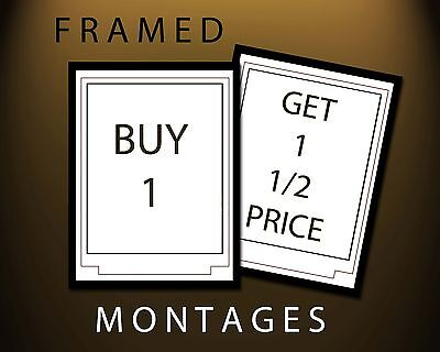 Any 2 Montages *framed*