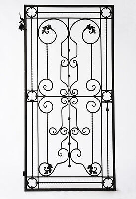 Wrought Iron Gate, Garden Gate, Feature, Classic design