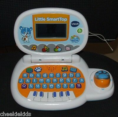 Vtech Little Smarttop Laptop Computer Educational Like New