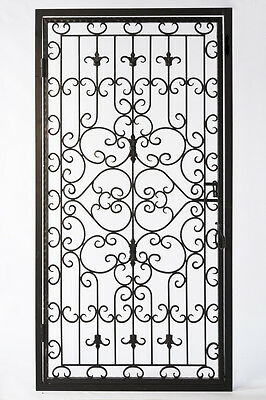 Wrought Iron Gate, Garden Gate, Classic Design