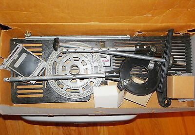Craftsman Sears Rout-A-Signer 2572 Router Accessory Sign Maker Templates Letters