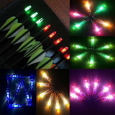 3/1Pcs Archery LED lighted Arrow Nock for Compound Bow Croosbow Outdoor Hunting