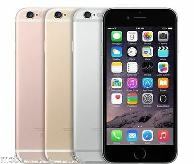 APPLE IPHONE 6S Spacegrau Gold Rose Silber 32GB 64GB 128GB versiegelte neu Ware