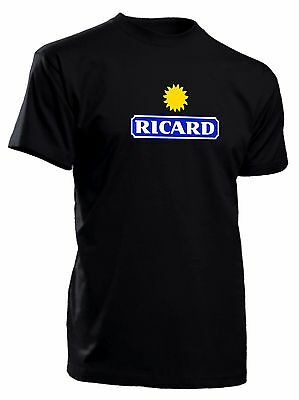 Tee-shirt ricard tshirt cool fun de S à 4XL