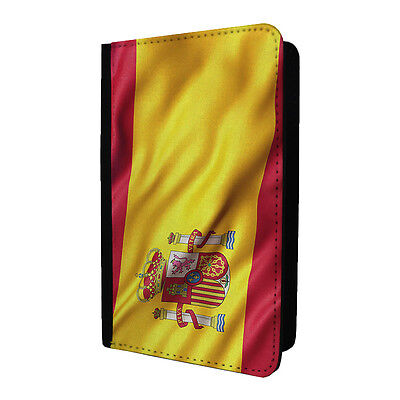 Country Flag Spain Passport Holder Case Cover - ST-T2358