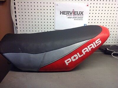 Polaris Switchback 2012 Seat Red Silver Black 6022517D