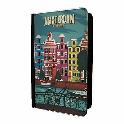 Vibrant pink textured leather passportcard holder from paperchase vintage poster amsterdam passport holder case cover st t2634 gumiabroncs Choice Image