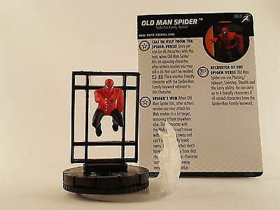 Marvel Heroclix - Superior Foes of Spider-Man #063 Old Man Spider- Chase Rare