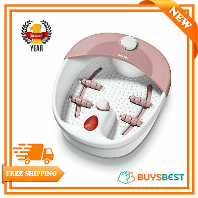 Beurer Foot Bubble Spa with Pedicure Water Heating and Vibration Massage FB20