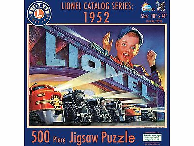 Lionel Catalog Series Puzzle 1952 (500 Pcs)