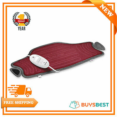 New Beurer Easy Fix Washable Electric Heat Pad HK55