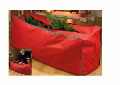 Large Red CHRISTMAS TREE STORAGE  Bag / Garland Bag Holds Up To 8ft Tree - New