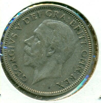 1929 Uk/gb Shilling, Extra Fine, Great Price!