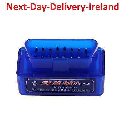 Wireless ELM327 OBD2 Bluetooth Diagnostic Car Android Tool Scan Fault Code