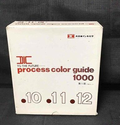 New DIC Japanese Color Guide Japan Import  Process Color Guide 1000 ~10~11~12