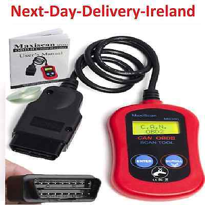 Autel MaxiScan MS300 OBD2 EOBD II CAN Code Reader Engine Diagnostic Scanner Tool